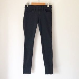 GUESS BLACK POWER SKINNY JEANS SIZE 27